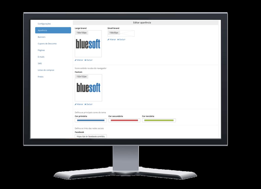 Comece a vender hoje com o<br> Bluesoft e-commerce!